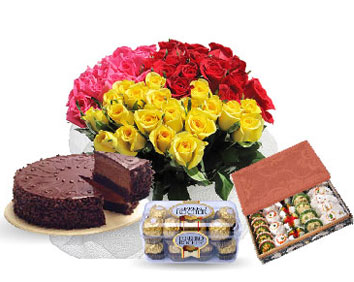 cake flowers sweets chocolates