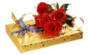 6 Red roses bouquet with Celebration chocolates wrapped in golden gifting sheet